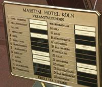 Ein aufenthalt in k ln und im vip hotel for Maritim hotel dortmund